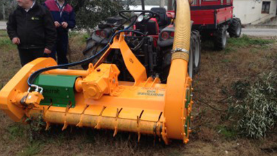 """RESULTS OF THE EXHIBITIONS WITH THE MACHINE """"BIOMASS 100 T-1500"""", ITALY 02nd-05th FEBRUARY 2015"""